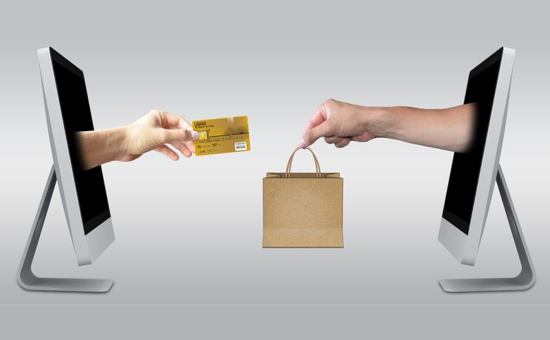 ネットで商品を購入するイメージ