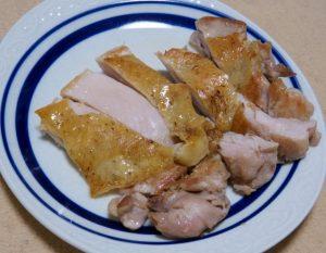 秋川牧園の鶏もも肉のうま塩焼き