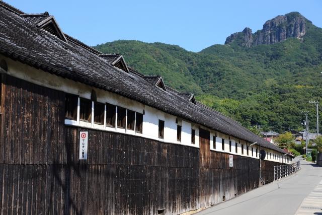 香川県の小豆島にある醤油醸造所