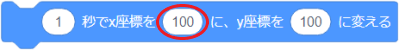 ○秒でx座標を△にy座標を◇に変えるのオプション2