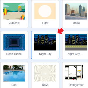 Night Cityを選択