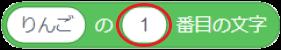 ○の△番目の文字ブロックのオプション2